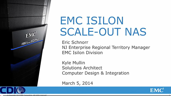 Isilon Scale-Out NAS