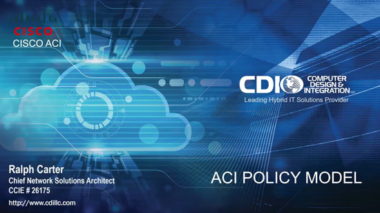 Cisco ACI Logical Constructs