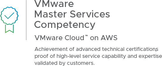 VMware Master Services Competency   VMware Cloud on AWS