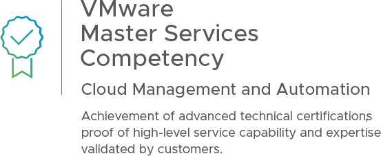 VMware Master Services Competency | Cloud Management and Automation