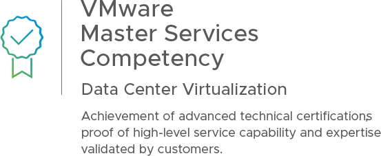VMware Master Services Competency | Data Management and Virtualization