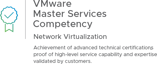 VMware Master Services Competency | Network Virtualization