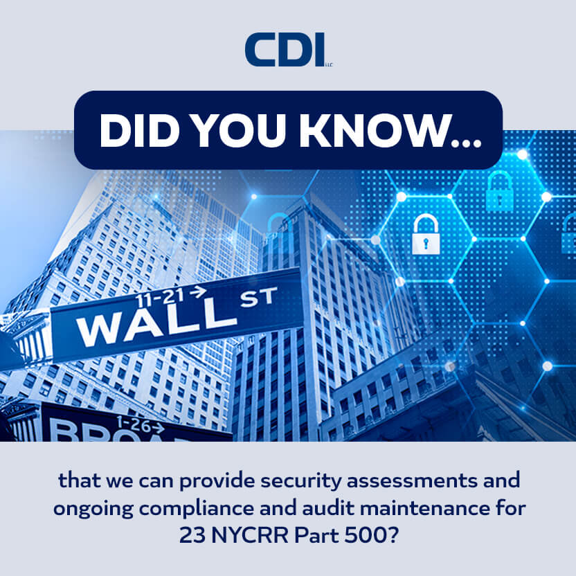 NYCRR Part 500 Cybersecurity Regulations