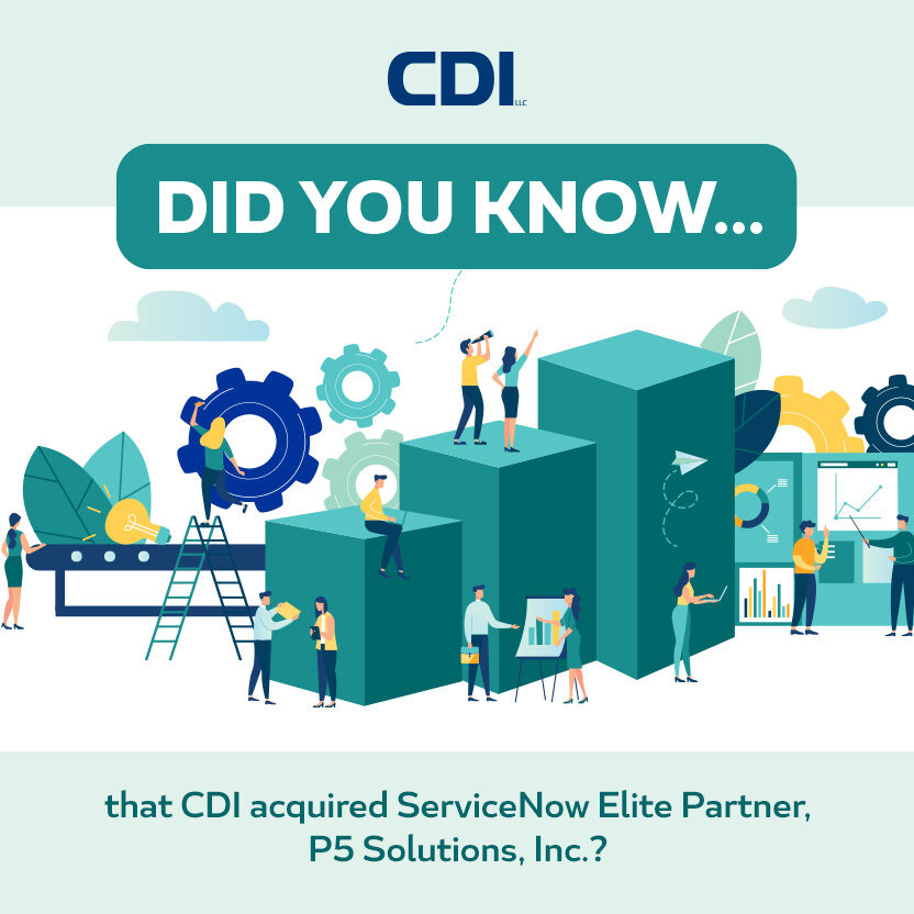 P5 Solutions, Inc. is now a CDI Company