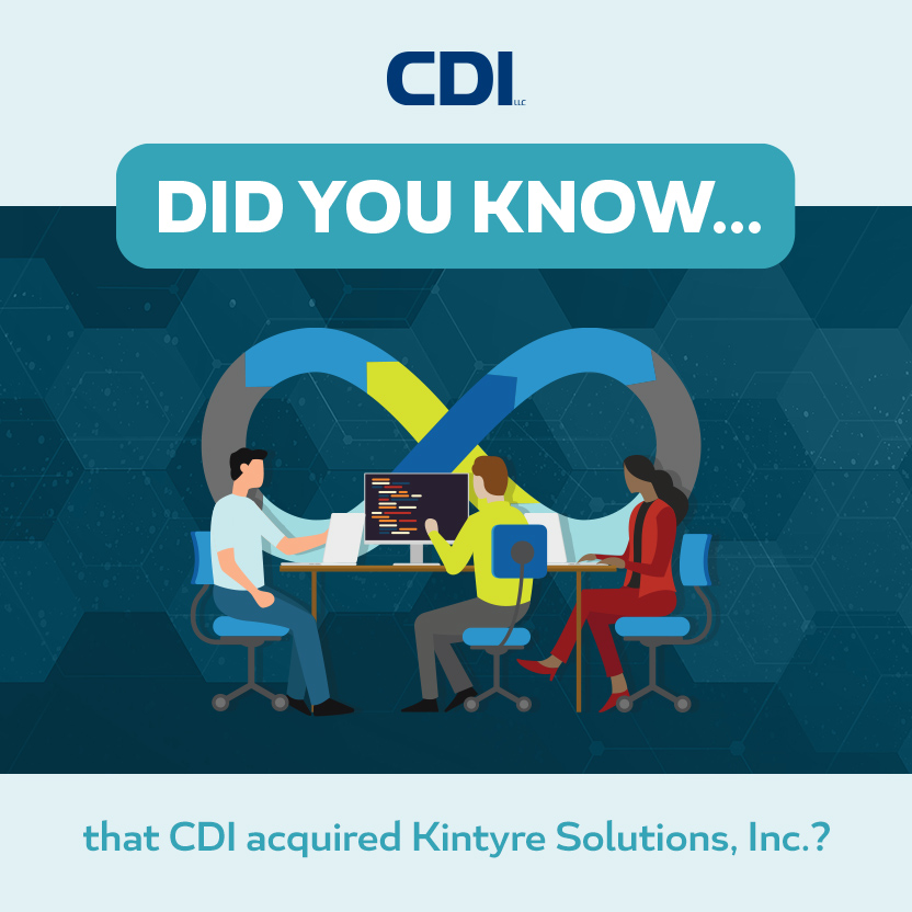 Kintyre is now a CDI Company