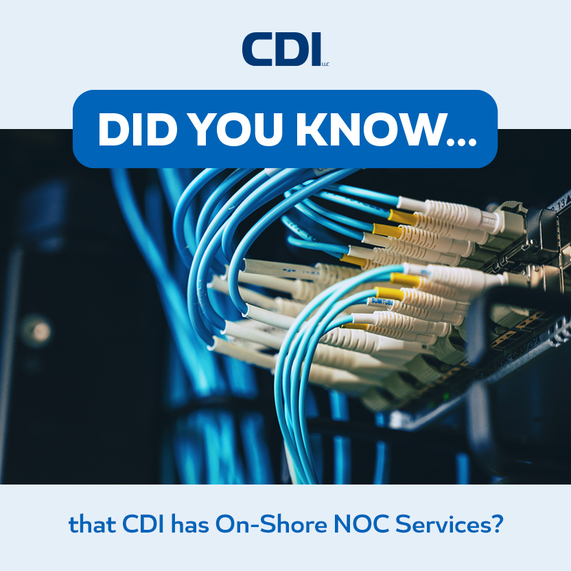 CDI has On-Shore NOC Services